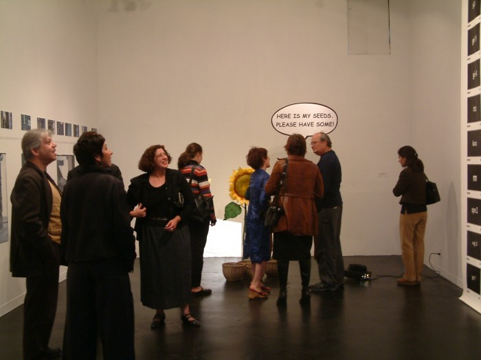 crazyspace, sanat monica, 2003 nisan sergi açılışı