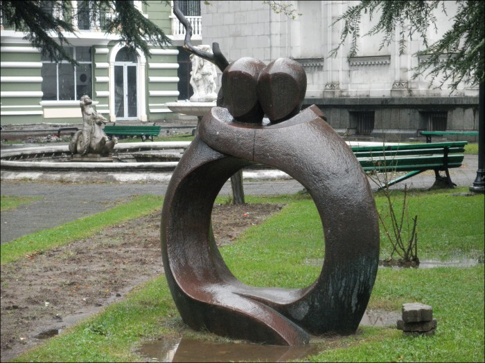 sculpture in batumi
